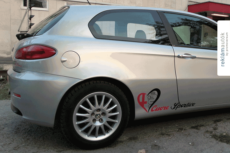 Autófóliázás | Alfa Romeo