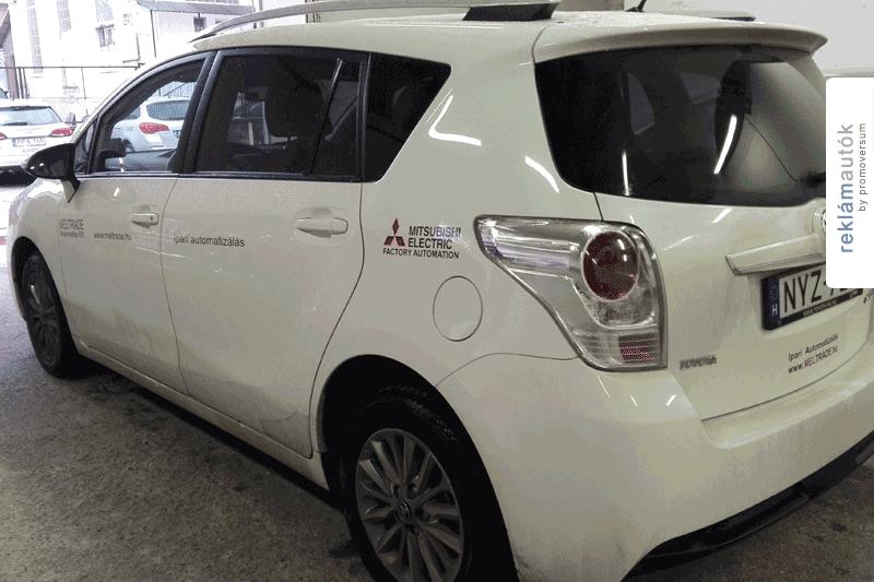 Autófóliázás a Meltrade Kft-nél