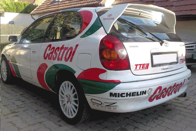 Toyota Corolla autófóliázás